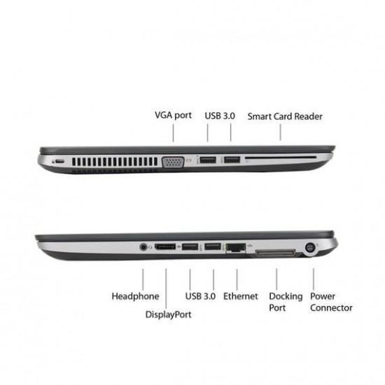 SSD TOPPER!!! HP Elitebook 840 G2: CORE i5 5e GEN. | 128GB SSD! | 4GB! | 1,5KG!