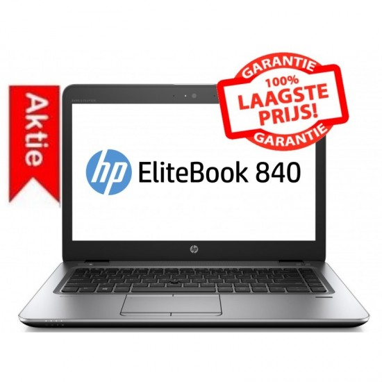 AANBIEDING! HP Elitebook 840: CORE i5 4e GEN. | SSD+500GB HDD extern Usb| HD+ 1600x 900 | 1,5KG!
