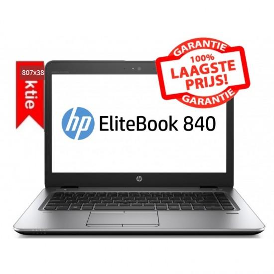 SSD  EN GEHEUGEN TOPPER!!  HP Elitebook 840 G2: CORE i5 5e GEN. 2.30 GHz | 180 GB SSD! | 16 GB | 1,5KG!