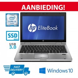SSD AKTIE!! HP Elitebook 2570P: Core i5 3e GEN.| 128GB SSD | 1,6KG | Windows 10