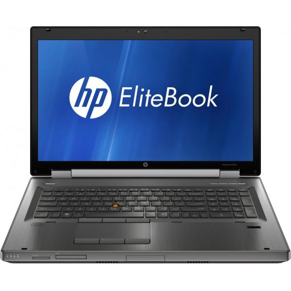 KRACHTPATSER! HP Elitebook WORKSTATION 8760W: CORE i7 QUAD | 8GB |NVDIA QUADRO 3000M |WIN 10